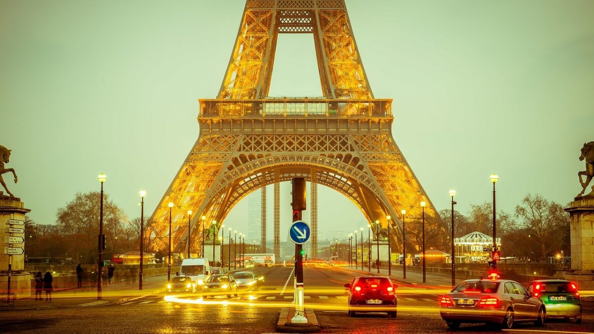 what to do in Paris - eiffel tower